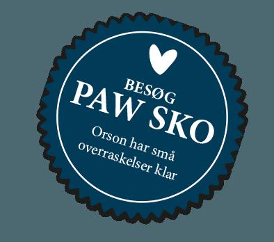 5c0d0997f581 ... Om PAW SKO · Find butik · Kontakt. Se magasinet HER